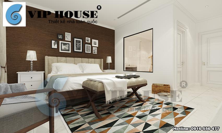 Thiết kế nhà phố Tuệ Tĩnh phong cách tân cổ điển