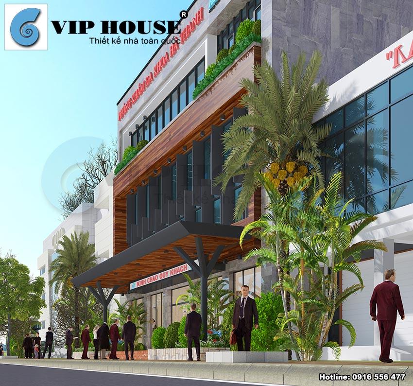 Thiết kế phòng khám đa khoa hiện đại, tiện nghi - VH TKPK MS12