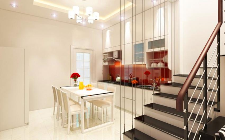 Thiết kế nội thất đẹp cho nhà ống nhỏ hẹp