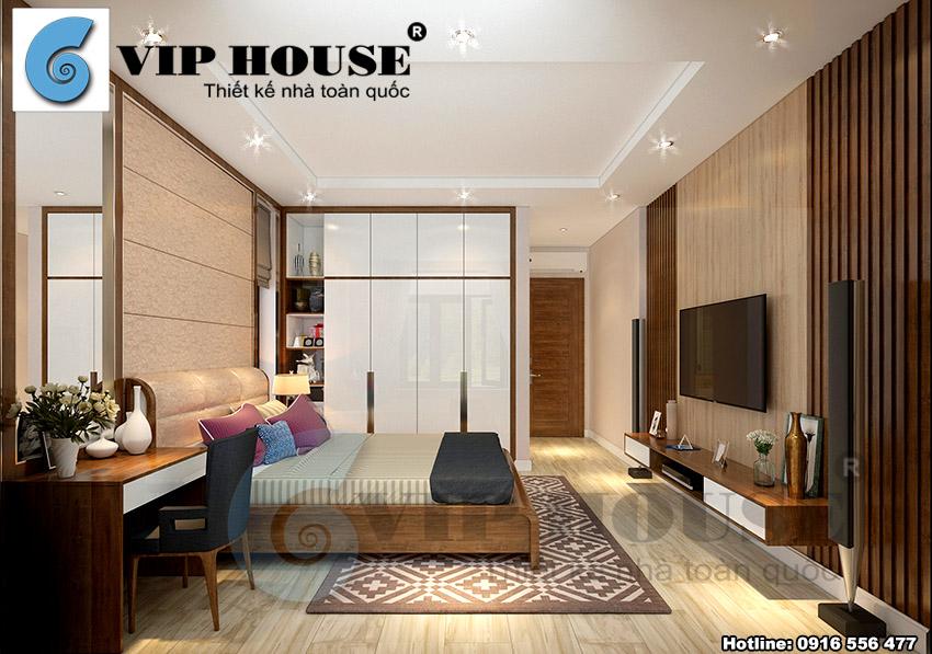 Thiết kế nội thất biệt thự vườn 2 tầng hiện đại