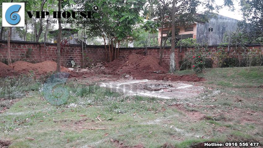 Hiện trạng khu đất trước khi xây dựng