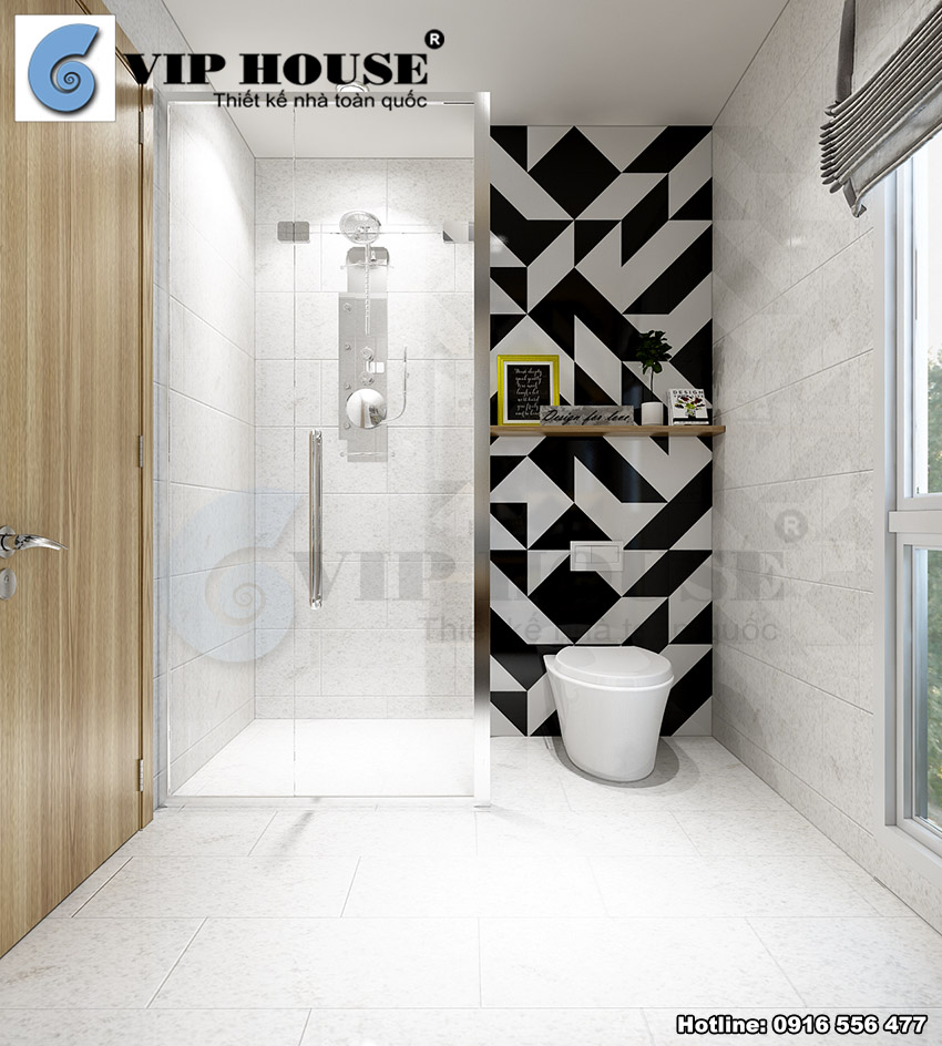 Thiết kế nội thất biệt thự phố 3 tầng tại Mỹ Đình