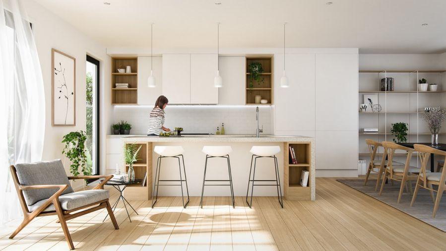 Xu hướng thiết kế nội thất bếp lên ngôi năm 2019
