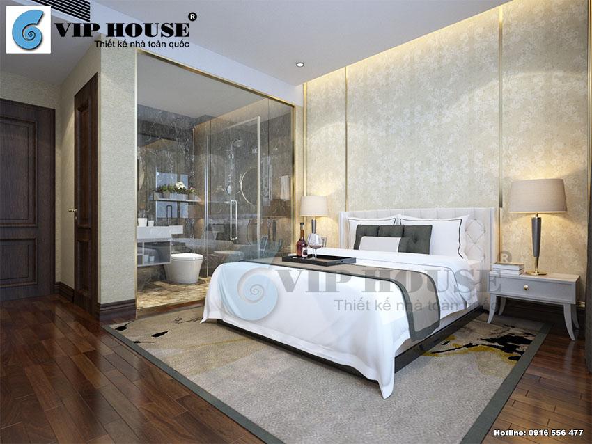 Thiết kế nội thất phòng ngủ khách sạn 3 sao đẹp đẳng cấp và tiện nghi