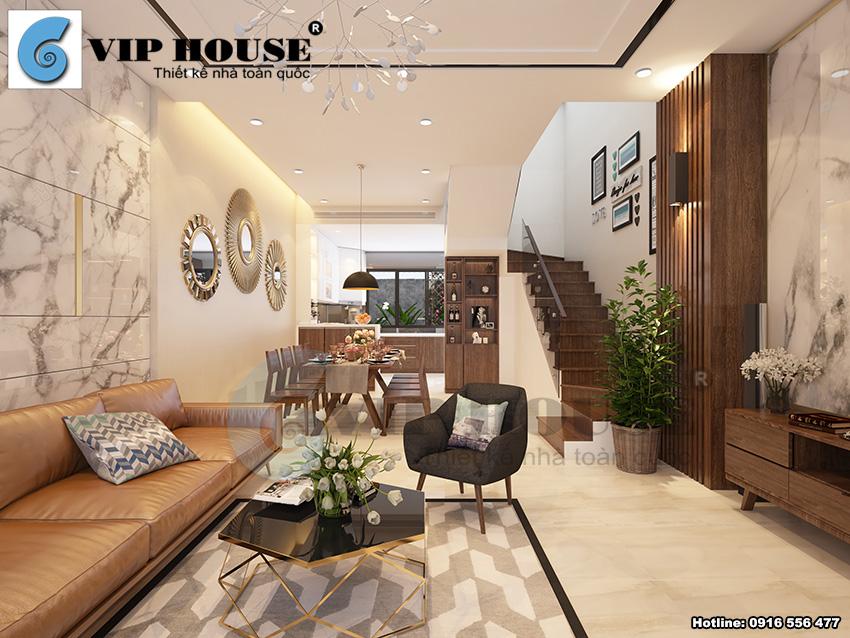 Thiết kế nội thất hiện đại biệt thự Gamuda sang trọng và thời thượng