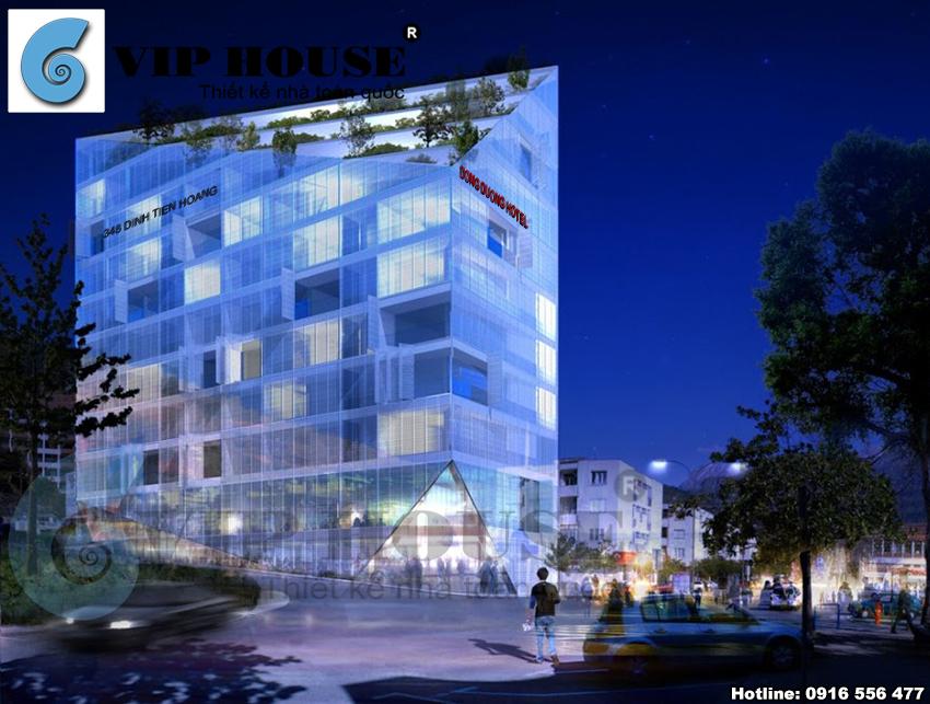 Mẫu thiết kế khách sạn sang trọng và đẳng cấp