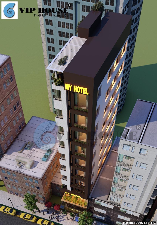 Thiết kế khách sạn mini đa phong cách