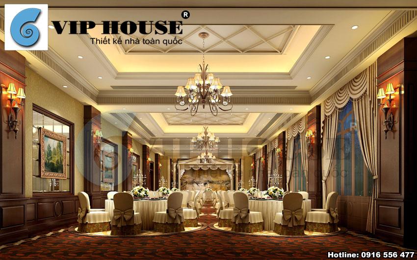 Thiết kế khách sạn tân cổ điển mang nét kiến trúc độc đáo